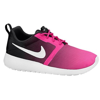 shoes nike shoes nike roshe run pink and black practices bra