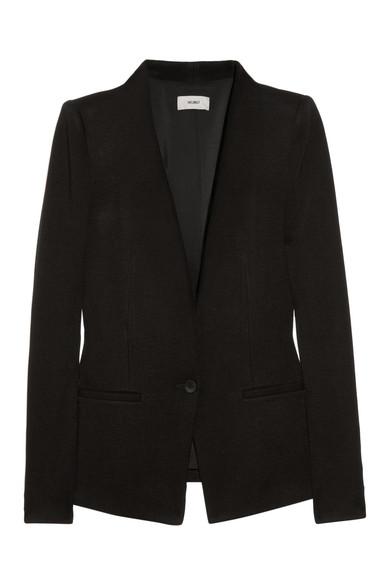 Helmut Lang|Jersey-twill blazer|NET-A-PORTER.COM