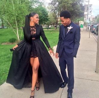 dress black dress prom long prom dress prom gown ball gown prom dresses black