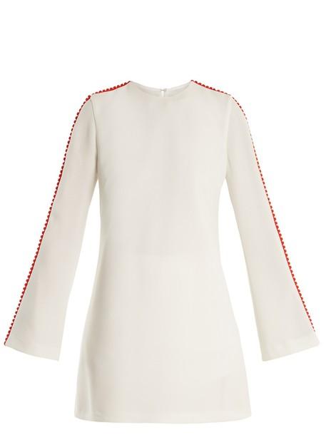 Galvan dress mini dress mini white