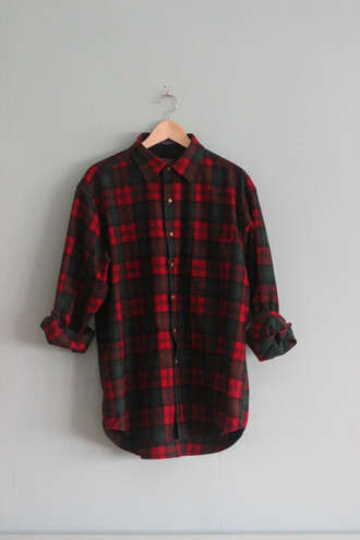 plaid plaid shirt long sleeves