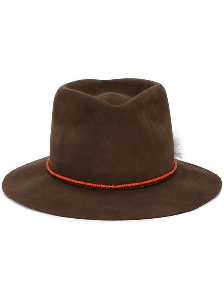 hat brown