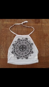 tank top,indian halterneck,boho chic