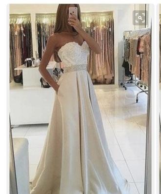 dress white ivory