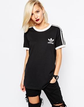 adidas Originals 3 Stripe T-Shirt at asos.com