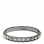 Coach :: CONE SPIKE PYRAMID BANGLE
