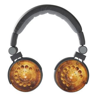 earphones steampunk telephone dial headphones pasob pasob-design zazzle