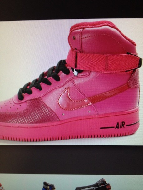shoes pink pink hightops