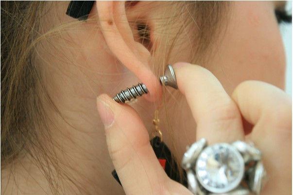 Single Fashion Punk Chic Unisex Fine Stainless Steel Whole Screw Stud Earrings | eBay