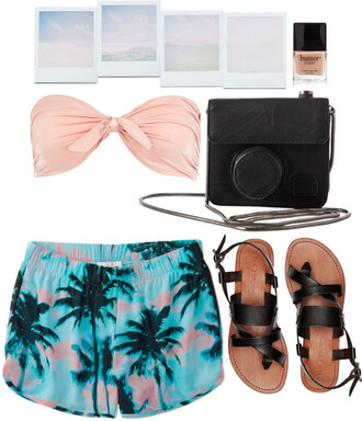 shoes summer butter nails bikini shorts swimwear