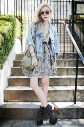 jean greige,grey dress,dress,jacket