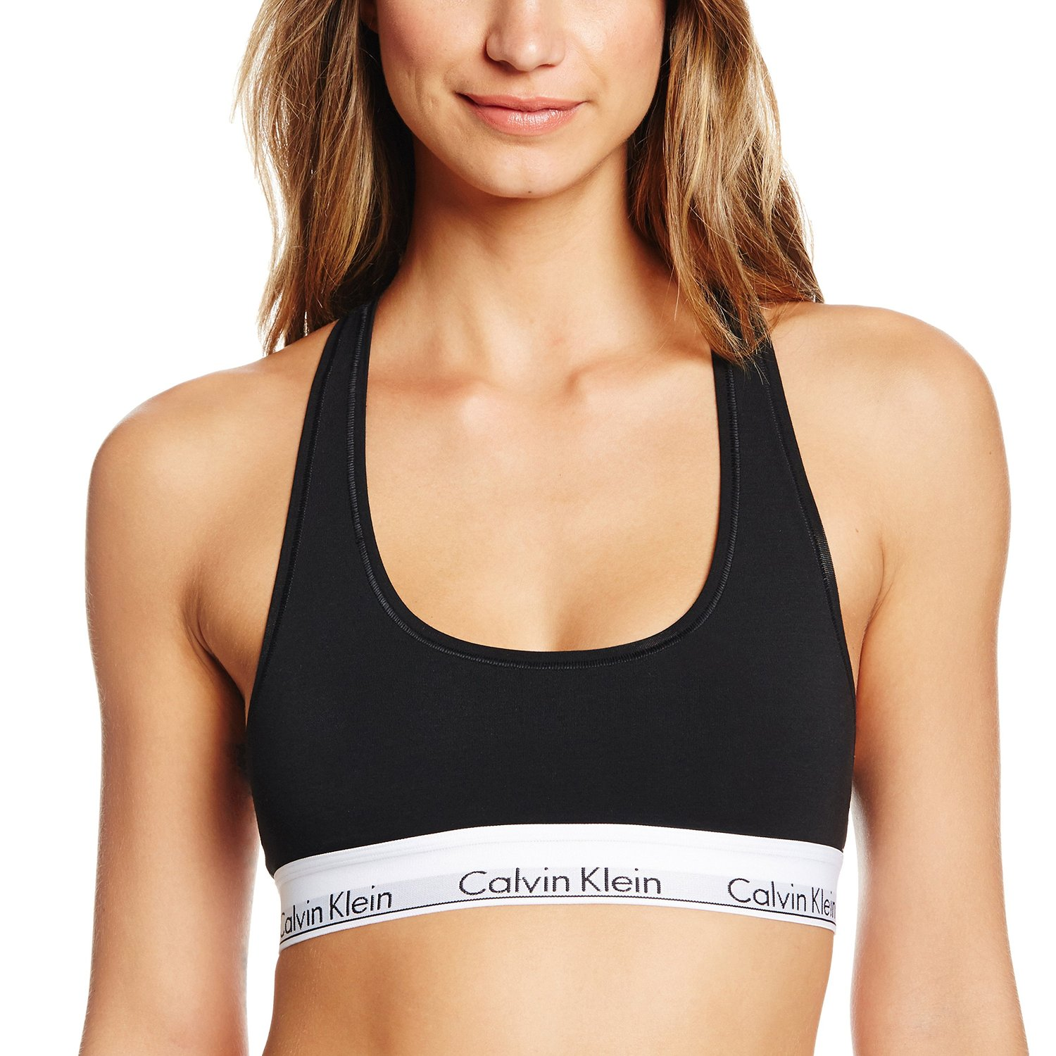 229fe2d2317c Calvin Klein Women's Modern Cotton Bralette at Amazon Women's Clothing store :