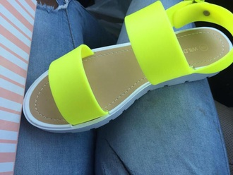 shoes neon