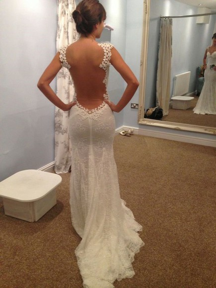 ivory wedding clothes champagne bride