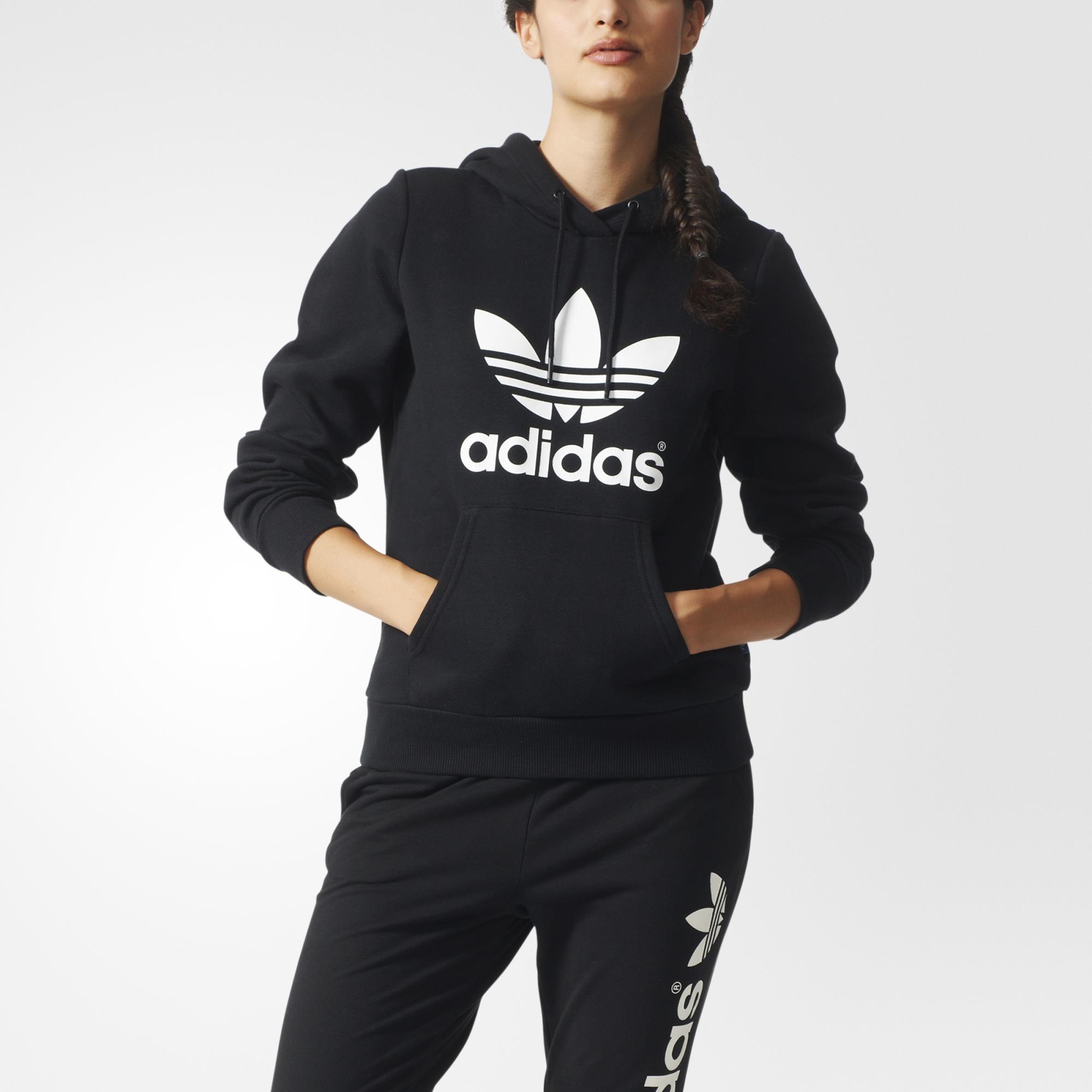adidas originals trefoil hoodie. Black Bedroom Furniture Sets. Home Design Ideas