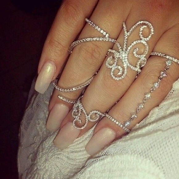 jewels classy ring silver rings silver jewlery