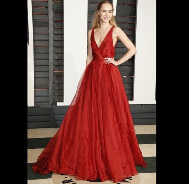 dress red long dress suki waterhouse style gown red dress beautiful.gown