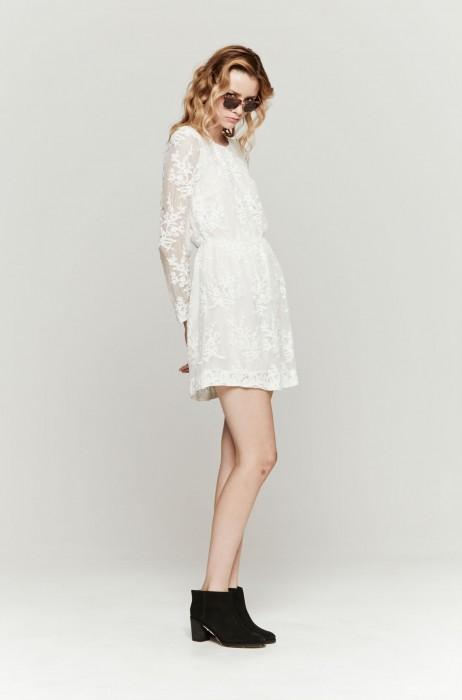 810b95564d7d The Dreslyn - Zimmermann celestial embroidered dress in white