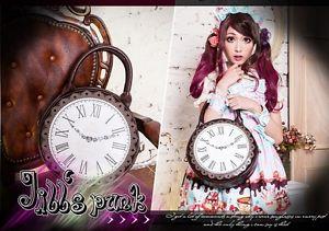 Lolita Fairy Cartoon Fantasy Alice in Wonderland Clock Alarm 2 Way Round Handbag | eBay