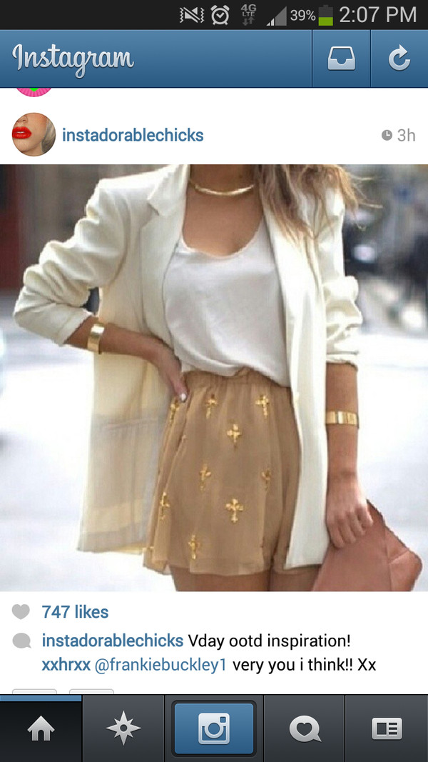 skirt gold cross tan mini