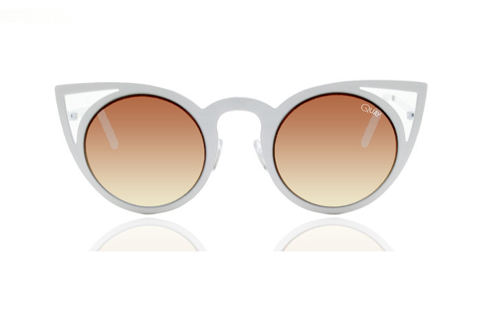Quay - Invader White Sunglasses