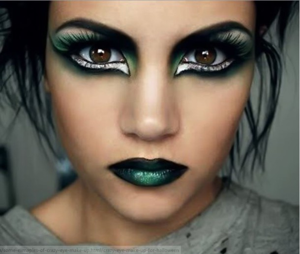 Make up: punk punky cat eye dark halloween witchy - Costume Makeup Ideas