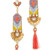Deepa Gurnani Deepa By Deepa Gurnani Harmony Earrings - Coral