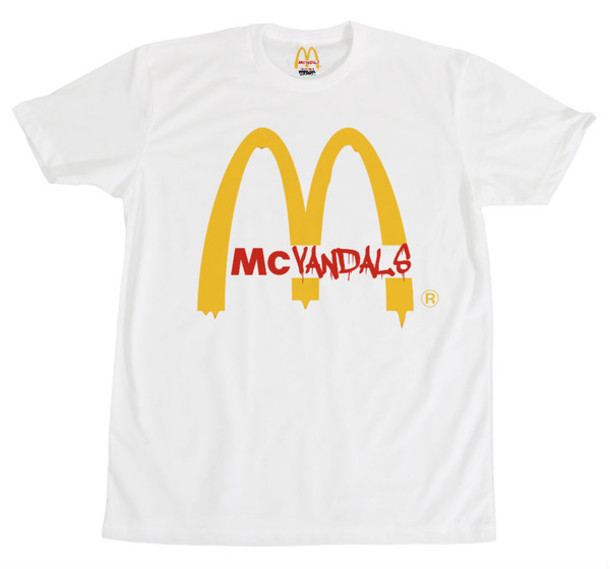 shirt mcdonalds