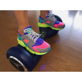shoes huarache nike nike air nike shoes nike sneakers pink style streetwear streetstyle dope sneakers nike running shoes fashion neon colorful