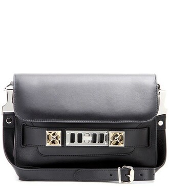 mini classic bag shoulder bag leather black