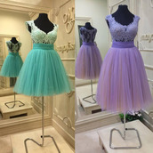 dress,prom,prom dress,mini,mini dress,short,short dress,mint,purple,purple dress,mint dress,evening dress,special occasion dress,lace,lace dress,tulle dress,pattern,gown,gorgeous,beautiful,amazing,chic,fabulous,wow,cool,cute,cute dress,sexy,sexy dress,love,pretty,lovely,fashion,fashion vibe,style,stylish,trendy,girl,women,vogue