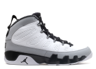 "air jordan 9 retro ""barons"" - white/black-wolf grey  