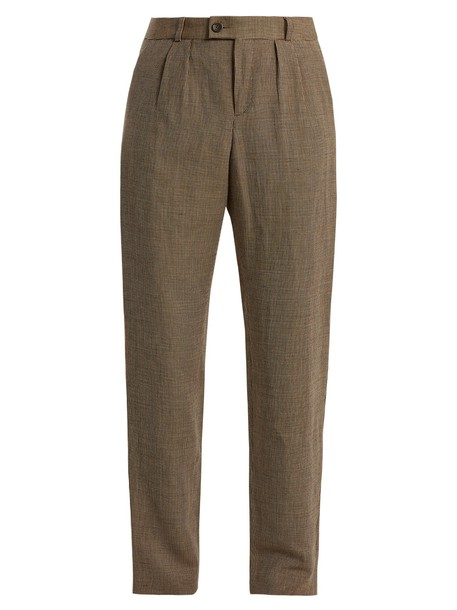 A.P.C. brown pants