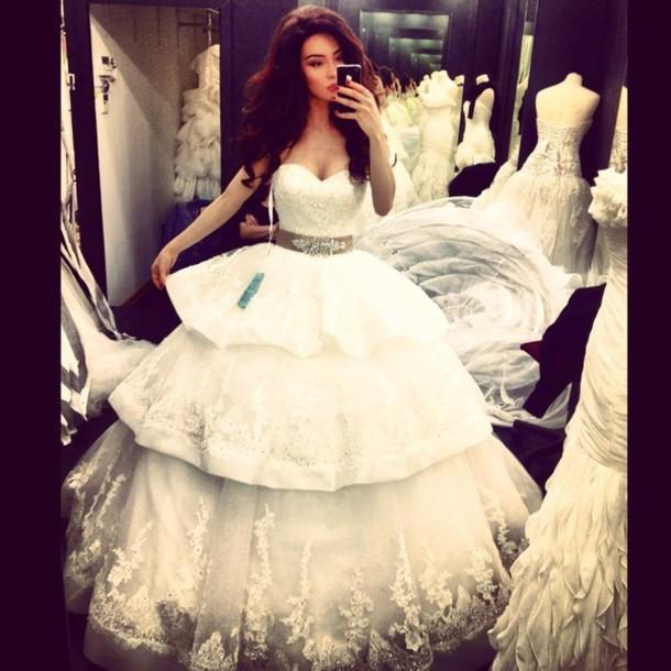 dress wedding dress ballgown wedding dress layers skirt wedding dress designer wedding dress lace wedding dress ball gown dress layers skirt