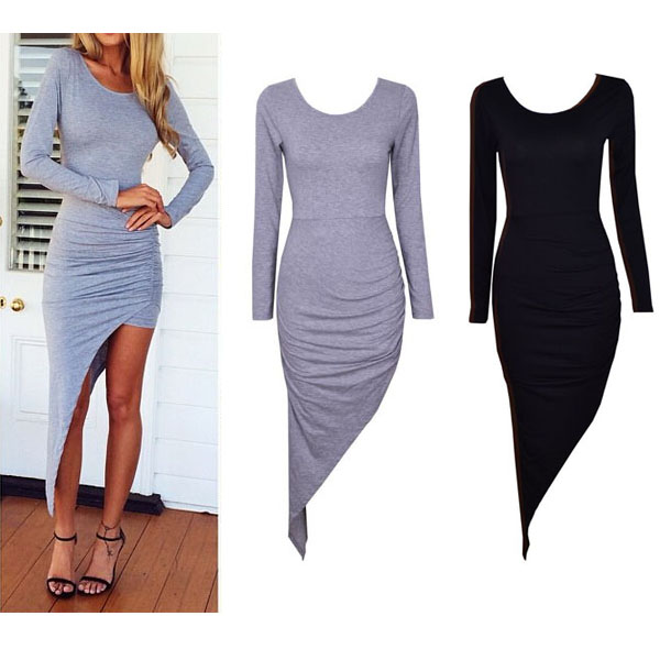 Irregular back cross dress · summah breeeze · online store powered by storenvy