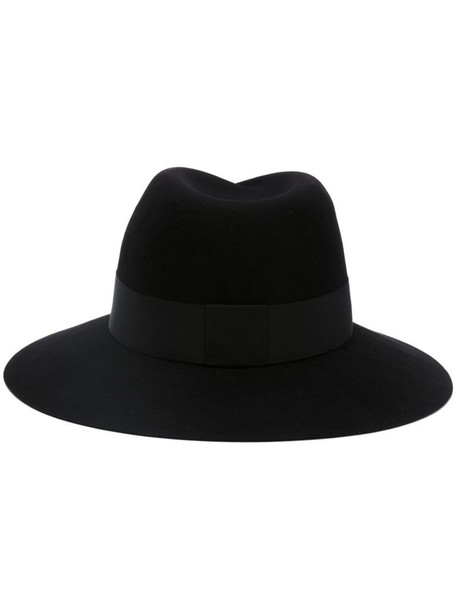 Maison Michel fedora black hat