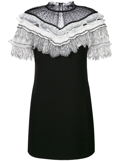 dress mini dress mini pleated women spandex black