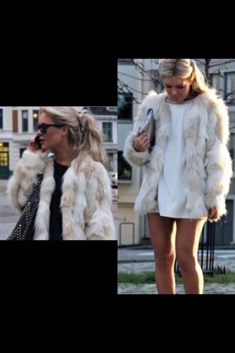 jacket faux fur jacket
