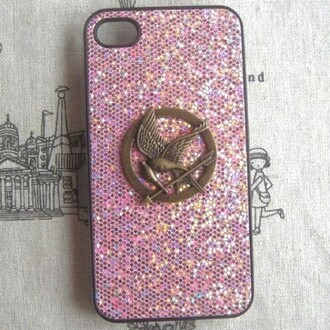 jewels i phone case the hunger games i phone cover natachaxo summer glitter birds