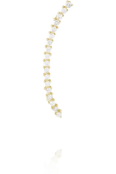 Ana Khouri | Isabel 18-karat gold diamond ear cuff | NET-A-PORTER.COM