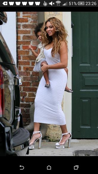dress white dress midi dress fitted dress