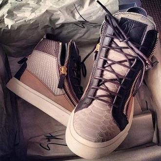 shoes luxury giuseppe zanotti brown