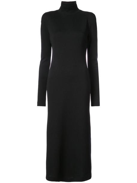 Haider Ackermann dress long women black wool