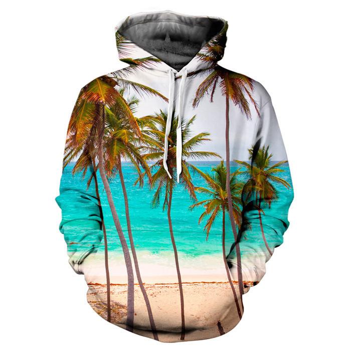 Tropical paradise hoodie – yo vogue clothing