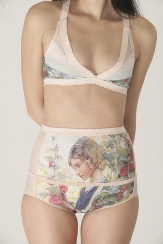 swimwear lingerie bikini high waisted bikini underwear