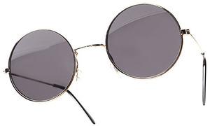 Lsd fashion lab accessories — oversized round sunglasses