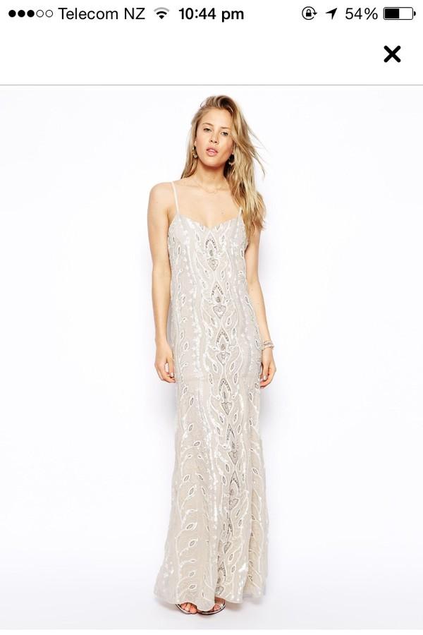 white dress ball gown dress prom dress clothes maxi maxi dress