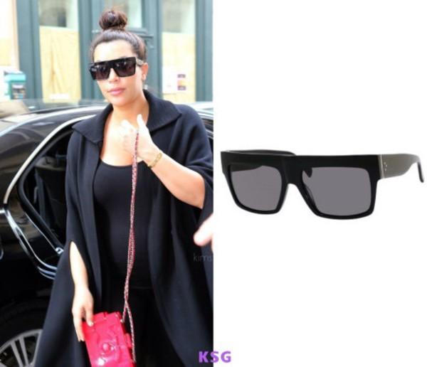 sunglasses kim kardashian black sunglasses sunnies kim kardashian kim kardashian style kardashians keeping up with the kardashians celebrity style celebrity accessories