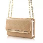 phone cover,purse,clutch,cute,gold,phone,shoulder bag