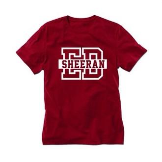 shirt red shirt ed sheeran